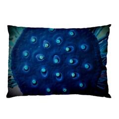 Blue Plant Pillow Cases