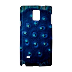 Blue Plant Samsung Galaxy Note 4 Hardshell Case