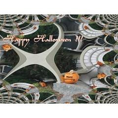 Creepy Pumpkin Fractal Magic Photo Cubes