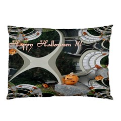 Creepy Pumpkin Fractal Pillow Cases (Two Sides)