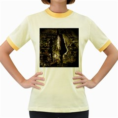 A Deeper Look Women s Fitted Ringer T-Shirts