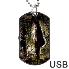A Deeper Look Dog Tag Usb Flash (one Side)