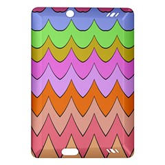 Pastel Waves Pattern Kindle Fire Hd (2013) Hardshell Case
