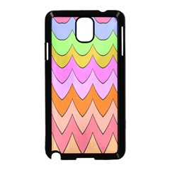 Pastel waves pattern Samsung Galaxy Note 3 Neo Hardshell Case