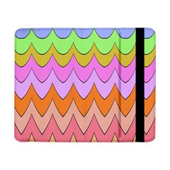 Pastel Waves Pattern	samsung Galaxy Tab Pro 8 4  Flip Case