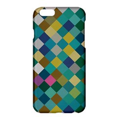 Rhombus pattern in retro colors	Apple iPhone 6 Plus Hardshell Case