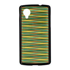 Diagonal stripes pattern Google Nexus 5 Case