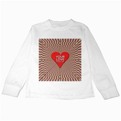 Your Love Moves Me Kids Long Sleeve T-Shirts