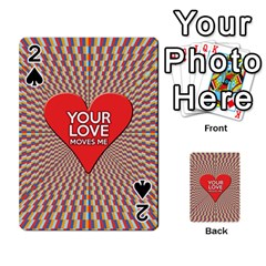 Your Love Moves Me Playing Cards 54 Designs