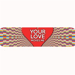 Your Love Moves Me Large Bar Mats