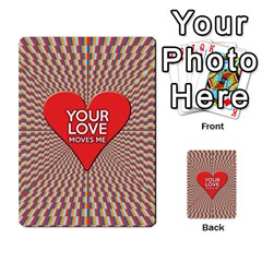 Your Love Moves Me Multi-purpose Cards (Rectangle)