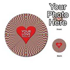 Your Love Moves Me Multi Purpose Cards (round)