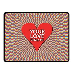 Your Love Moves Me Fleece Blanket (Small)