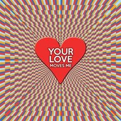 Your Love Moves Me Magic Photo Cubes
