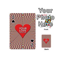 Your Love Moves Me Playing Cards 54 (mini)