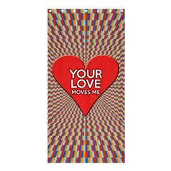 Your Love Moves Me Shower Curtain 36  x 72  (Stall)