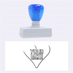 Your Love Moves Me Rubber Stamps (Large)