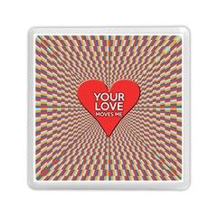 Your Love Moves Me Memory Card Reader (Square)