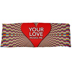 Your Love Moves Me Body Pillow Cases (Dakimakura)