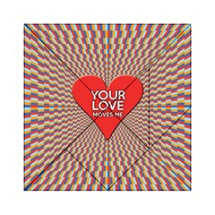 Your Love Moves Me Acrylic Tangram Puzzle (6  x 6 )