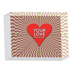 Your Love Moves Me 5 x 7  Acrylic Photo Blocks