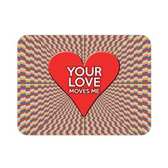 Your Love Moves Me Double Sided Flano Blanket (Mini)
