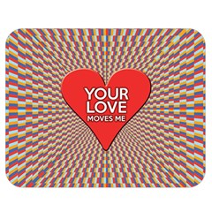 Your Love Moves Me Double Sided Flano Blanket (Medium)