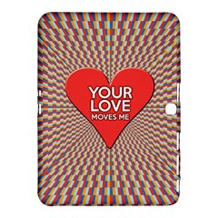 Your Love Moves Me Samsung Galaxy Tab 4 (10.1 ) Hardshell Case