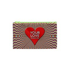 Your Love Moves Me Cosmetic Bag (XS)