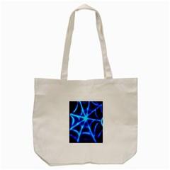 Neon web Tote Bag (Cream)