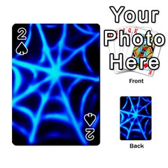 Neon web Playing Cards 54 Designs