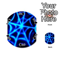 Neon web Playing Cards 54 (Round)
