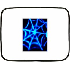 Neon web Fleece Blanket (Mini)