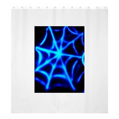 Neon Web Shower Curtain 66  X 72  (large)