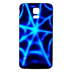 Neon web Samsung Galaxy S5 Back Case (White)
