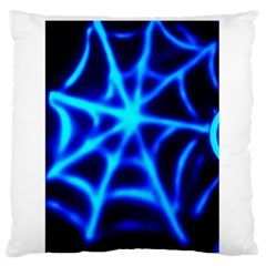 Neon web Standard Flano Cushion Cases (One Side)