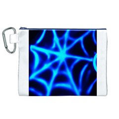 Neon web Canvas Cosmetic Bag (XL)