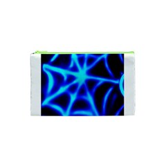 Neon web Cosmetic Bag (XS)