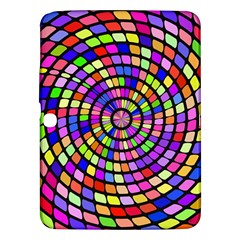 Colorful Whirlpool Samsung Galaxy Tab 3 (10 1 ) P5200 Hardshell Case