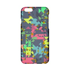 Pastel scattered pieces Apple iPhone 6 Hardshell Case
