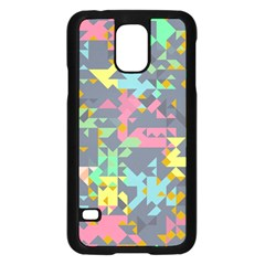 Pastel Scattered Pieces	samsung Galaxy S5 Case