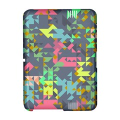 Pastel scattered piecesKindle Fire HD Hardshell Case