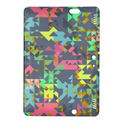 Pastel Scattered Pieces	kindle Fire Hdx 8 9  Hardshell Case