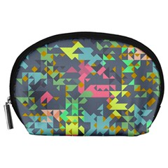 Pastel Scattered Pieces Accessory Pouch