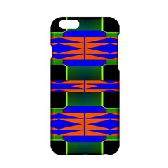 Distorted shapes pattern Apple iPhone 6 Hardshell Case
