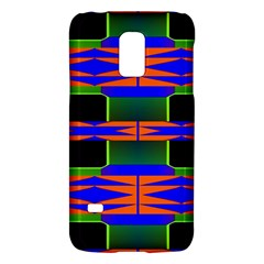 Distorted shapes patternSamsung Galaxy S5 Mini Hardshell Case