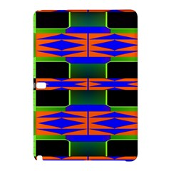 Distorted shapes patternSamsung Galaxy Tab Pro 10.1 Hardshell Case