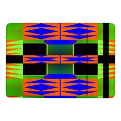 Distorted Shapes Pattern	samsung Galaxy Tab Pro 10 1  Flip Case
