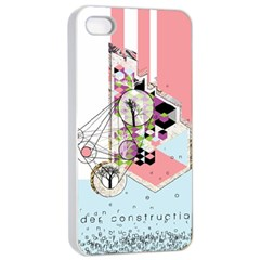 Under Construction Apple iPhone 4/4s Seamless Case (White)
