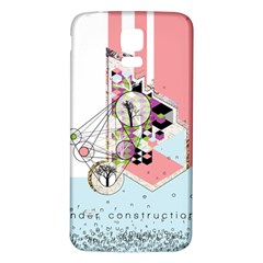 Under Construction Samsung Galaxy S5 Back Case (White)